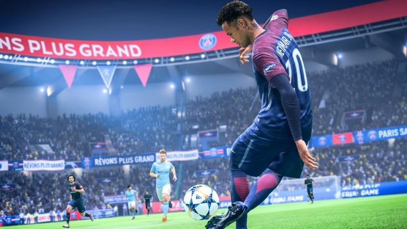 Neymar trägt (noch) das Trikot von Paris.