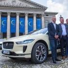 I-Pace: Elektro-Jaguars als Münchner Taxis