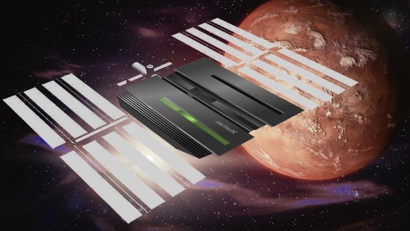 Der Spaceborne Computer hält schon 340 Tage im All durch.