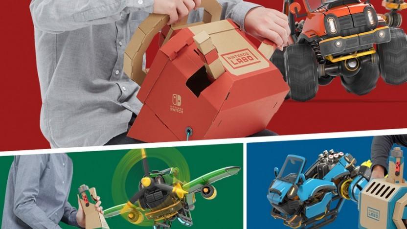Artwork von Nintendo Labo