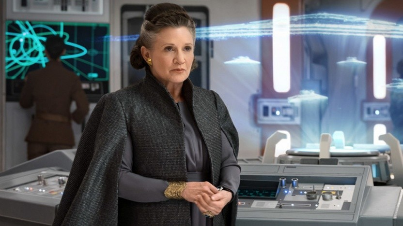 Carrie Fisher als Prinzessin Leia in Star Wars.