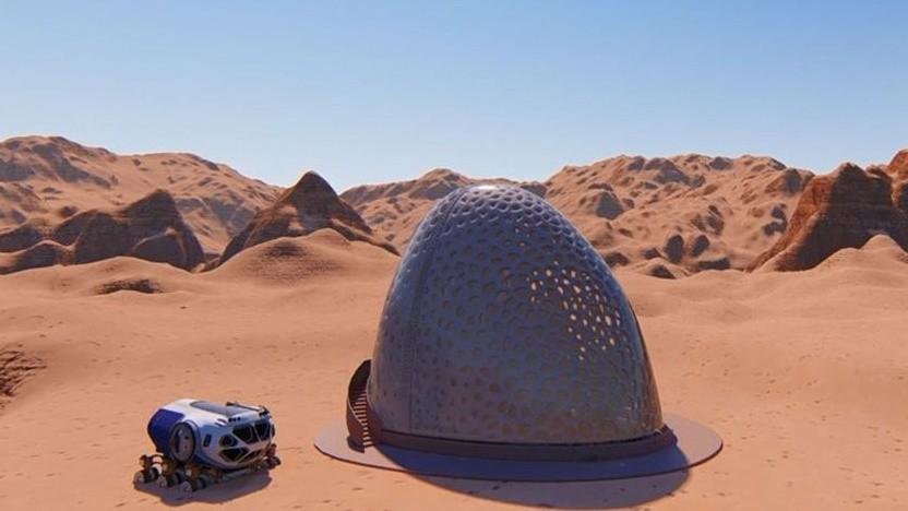 3D-gedrucktes Marshabitat: ständige Siedlungen auf dem Mars und dem Mond geplant