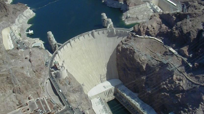 Der Hoover Dam aus der Luft: Entschieden wird in Washington DC.