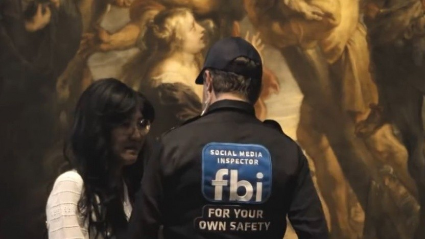 In einem Video wollen die Museumsbetreiber zeigen, wie sich eine Nacktheitskontrolle im echten Leben auswirken würde.