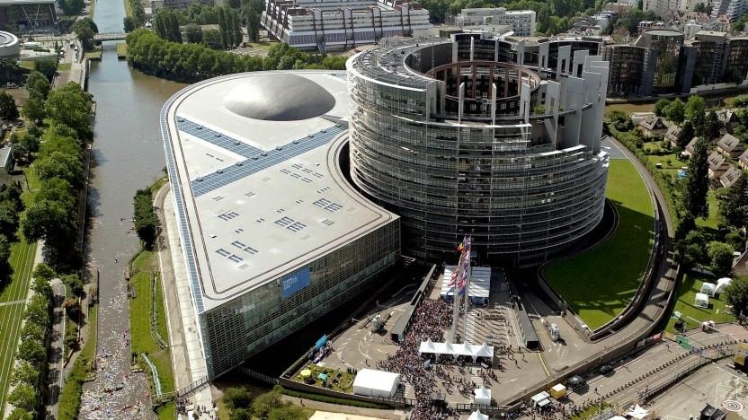 Das Europäische Parlament in Straßburg: guter Kompromiss zwischen Urheberrechtsschutz und Grundrechten