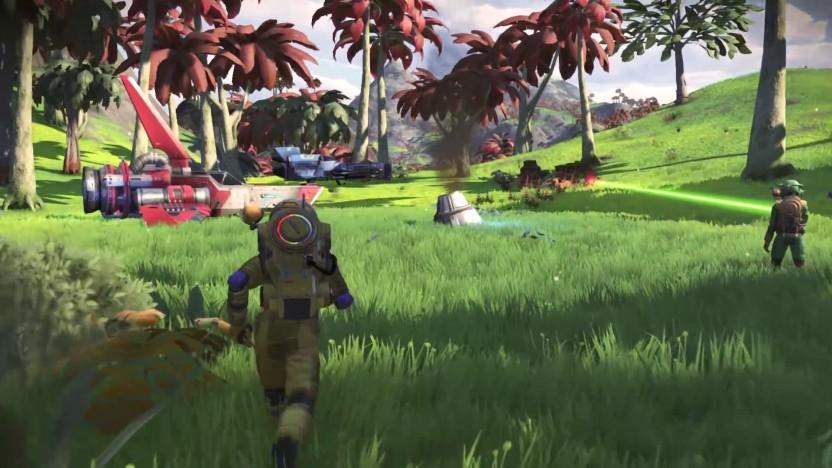Screenshot aus No Man's Sky Next