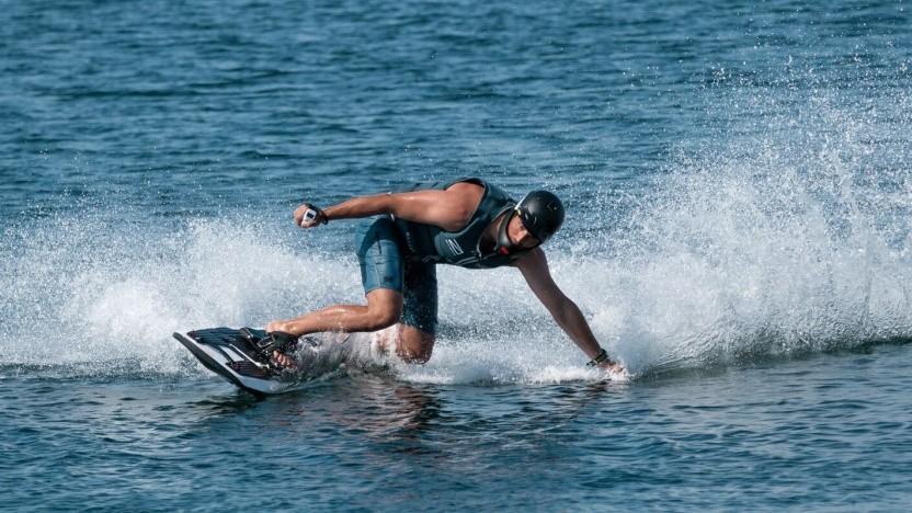 Elektrisches Surfboard Rävik: wasserdichte Fernbedienung