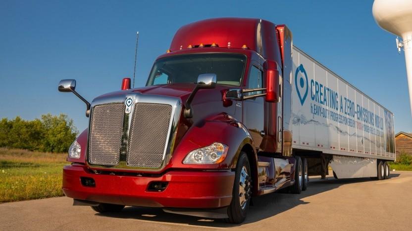 Brennstoffzellen-Truck Project Portal Beta: anderthalbfache Reichweite