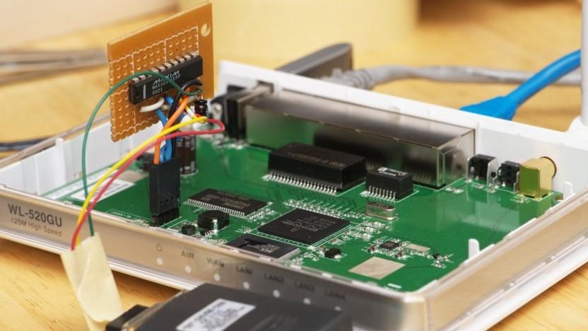 OpenWRT dient als alternative Firmware für Router - und damit zum Basteln.