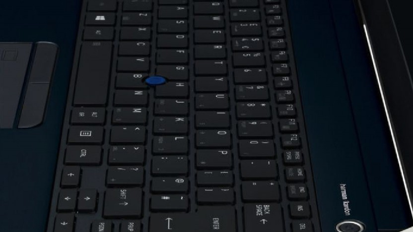 Das Tecra X40-E-10W nutzt einen praktischen Trackpoint.