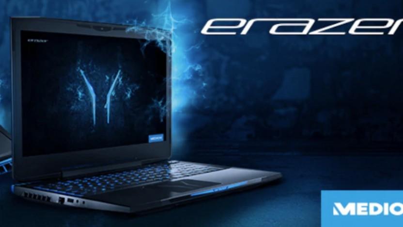 Das Erazer X6805 ist optisch für Gamer gemacht.