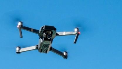 DJI-Drohnen sollen Flugzeuge erkennen.