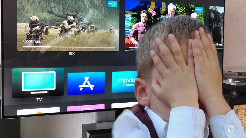Augenschmerzen statt Filmgenuss