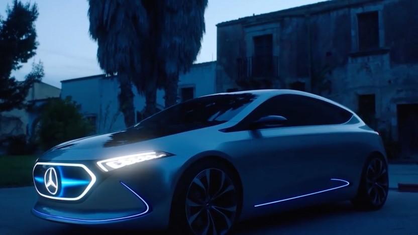 Prototyp des Mercedes-Benz EQA