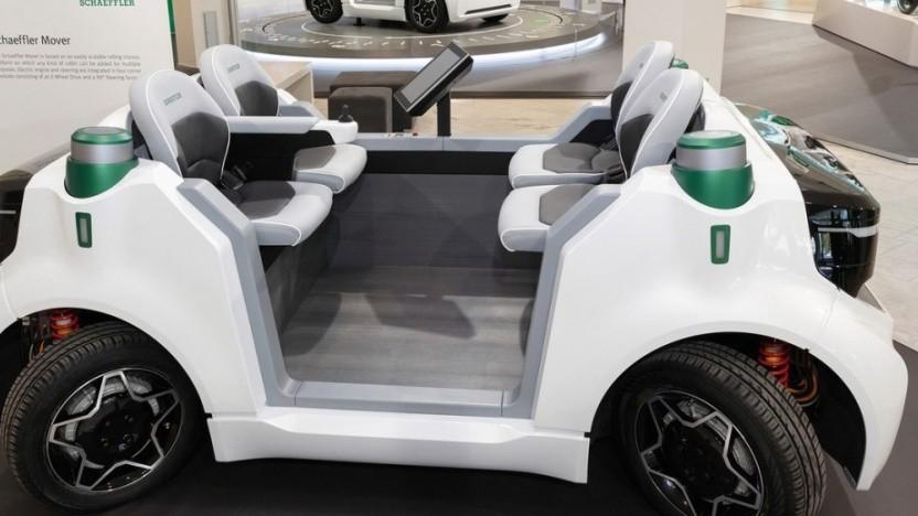 Autonomer Schaeffler Mover für flexible Transportaufgaben