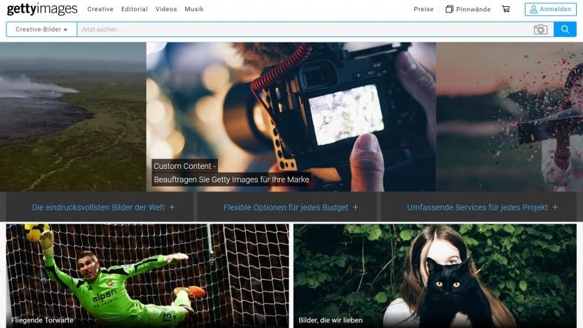 Bildagentur Getty Images (Symbolbild): KI-System Panels sucht nach Stichwörtern, Personen und Orten im Text.