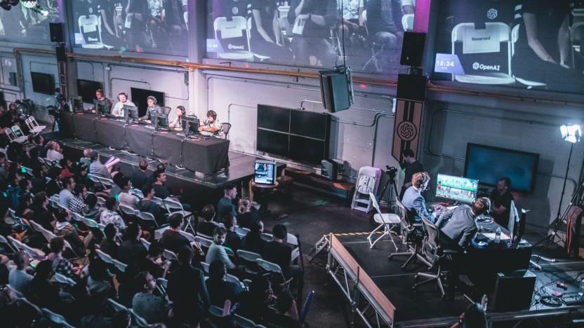Dota-2-Veranstaltung von Open AI