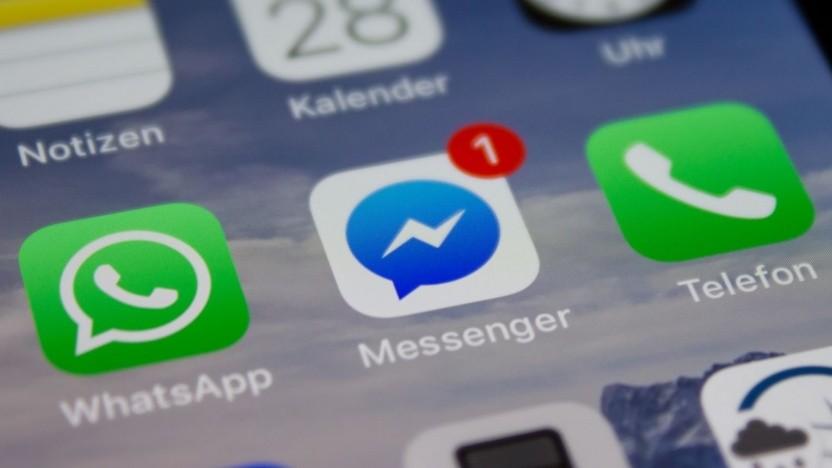 Facebook will Bankdienstleistungen über seinen Messenger anbieten.