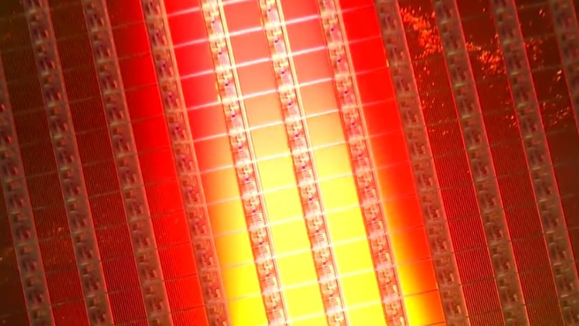 Wafer mit 3D-NAND-Flash