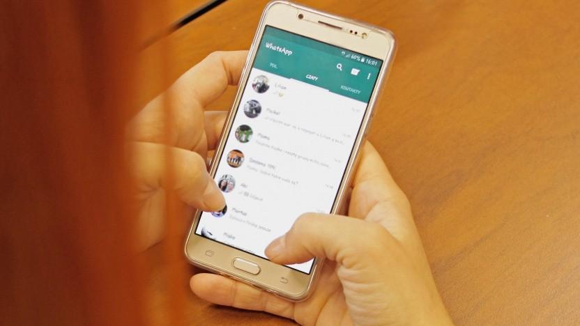 Zitate in Whatsapp-Gruppen sind für Manipulation angreifbar.