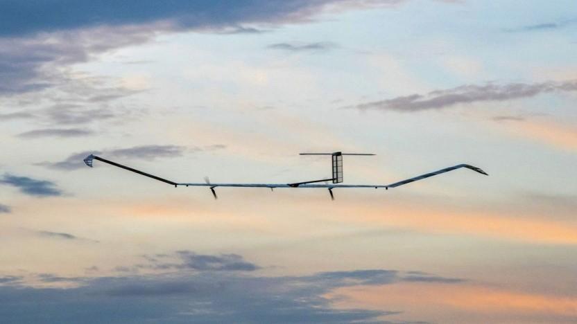 Solardrohne Zephyr S: militärische und zivile Einsatzmöglichkeiten