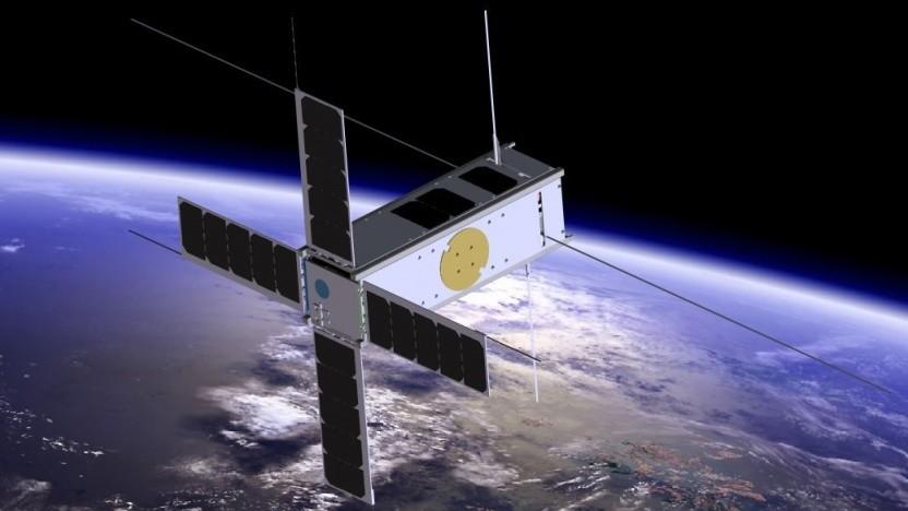 Cubesat (Symbolbild): No encryption, no fly
