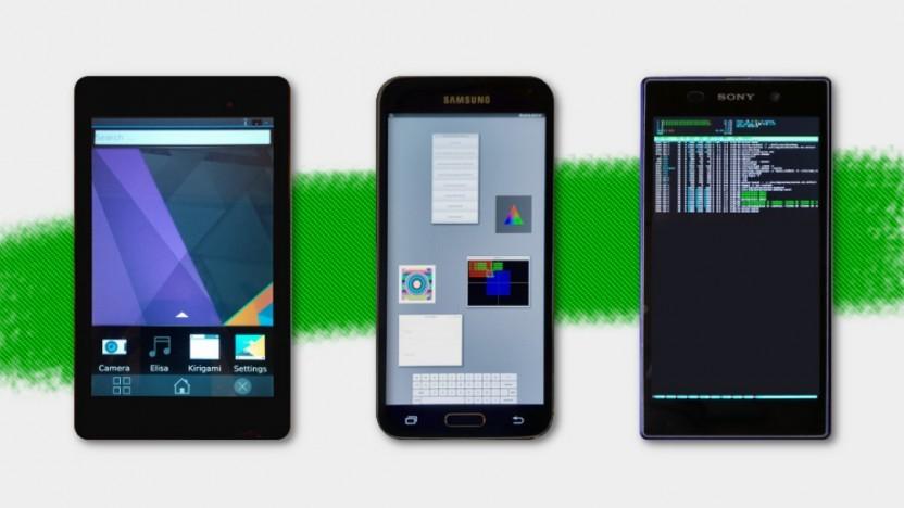 Postmarket OS setzt bereits auf freie Treiber und Plasma Mobile.