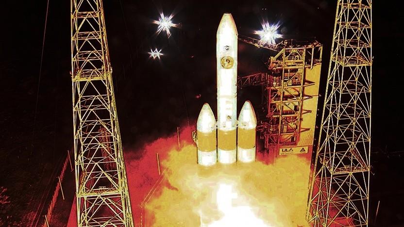 Erfolgreicher Start der Delta IV Heavy-Rakete