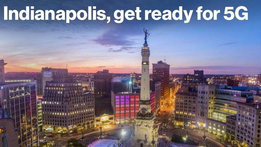 5G Start in Indianapolis