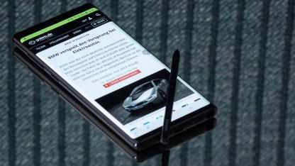 Im Galaxy Note 9 arbeitet kein SoC, das einen separaten KI-Chip hat.