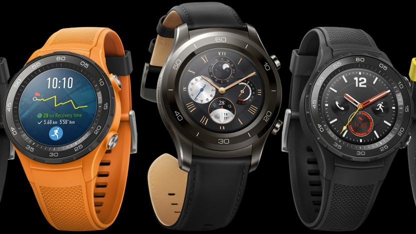 Watch OS auf der Huawei Watch 2
