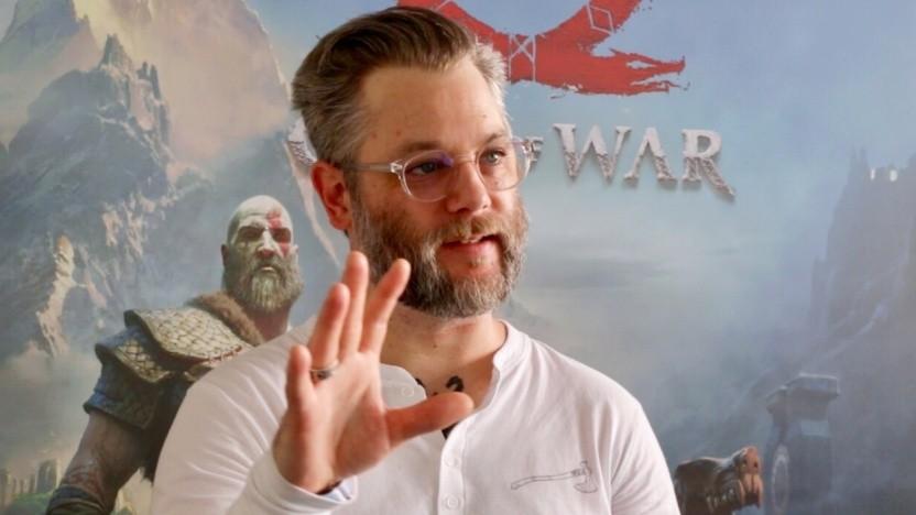 Cory Barlog, Chefentwickler von God of War, im Interview mit Golem.de