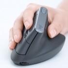 Logitech MX Vertical: Ergonomisch geformte Maus soll Handgelenke schonen
