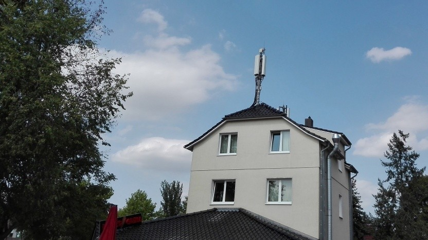 Mobilfunkmast in Teltow/Brandenburg