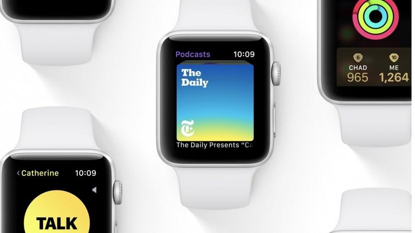 WatchOS 5 auf der Apple Watch