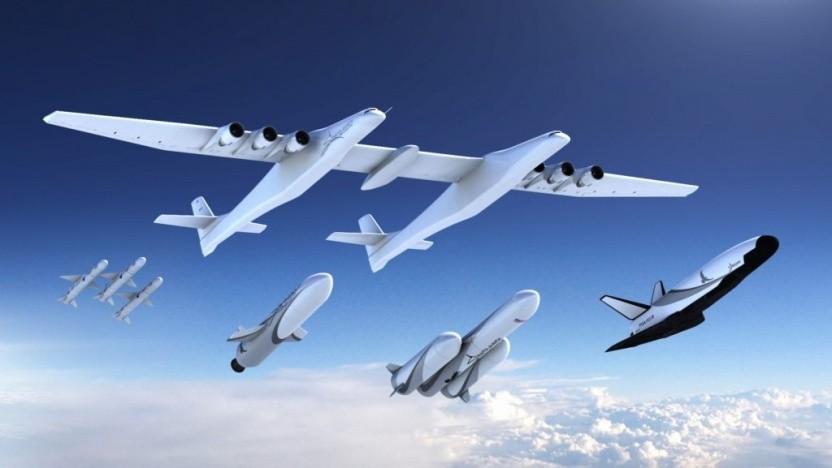 Stratolaunch will eine Reihe eigener Raketen für das größte Flugzeug der Welt entwickeln.