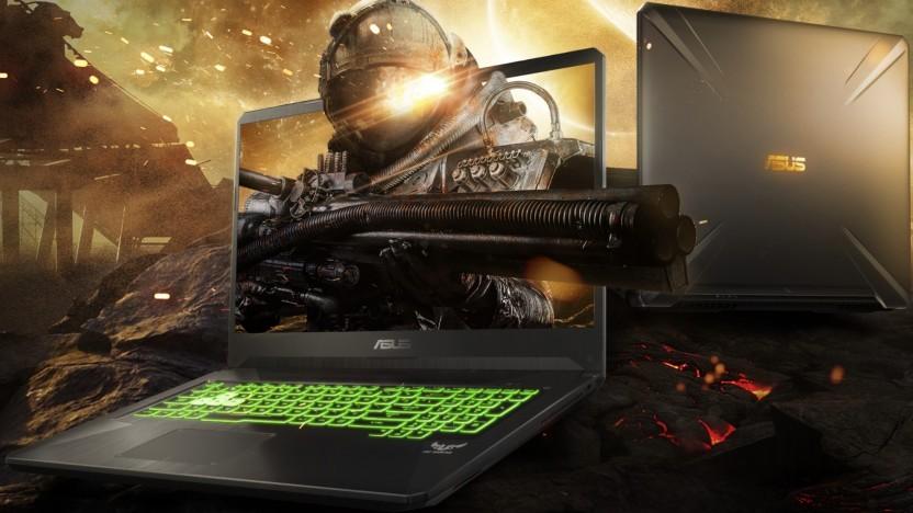 Das FX505 ist eines von zwei Budget-Gaming-Notebooks.