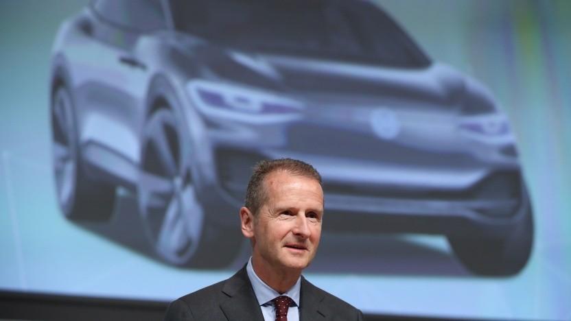 VW-Chef Herbert Diess im Mai 2018