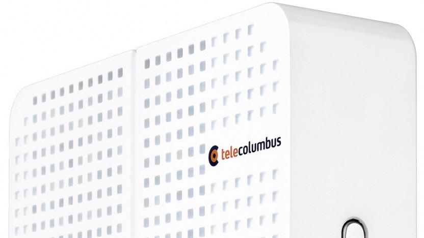 Der Router von Tele Columbus