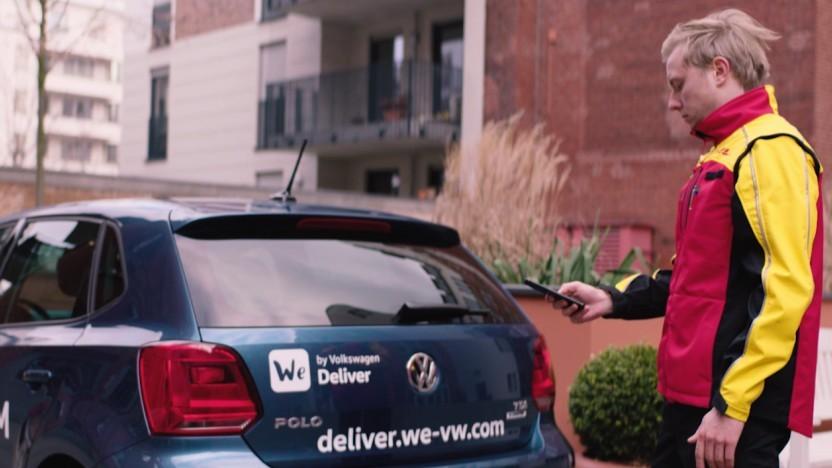 Nächstes Jahr startet die Kofferraumlieferung bei VW.