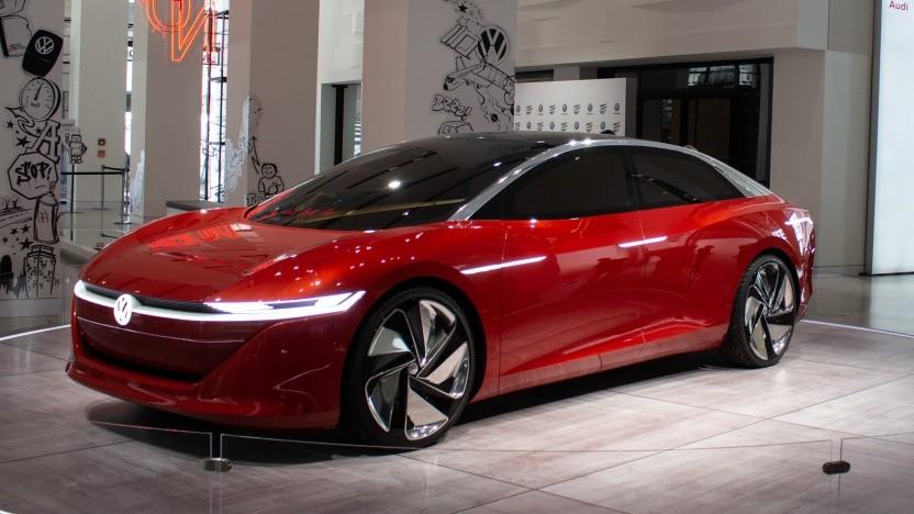 Studie des VW-Elektroautos ID Vizzion