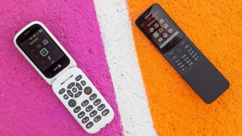 Das Doro 7060 tritt gegen das Nokia 8110 4G von HMD Global an.