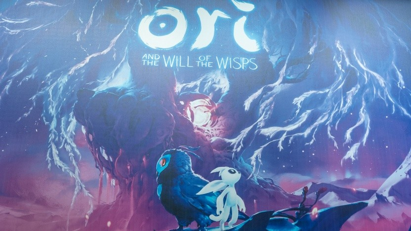 Auf der Gamescom ist das neue Spiel Ori 2 vertreten.