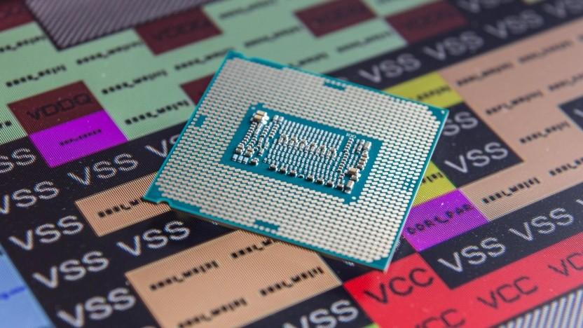 Ein Chip für Sockel LGA 1151 v2 mit Pin-Blockdiagramm