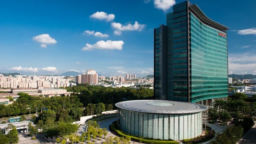 Das R&D-Center auf dem Campus von Huawei in Shenzhen