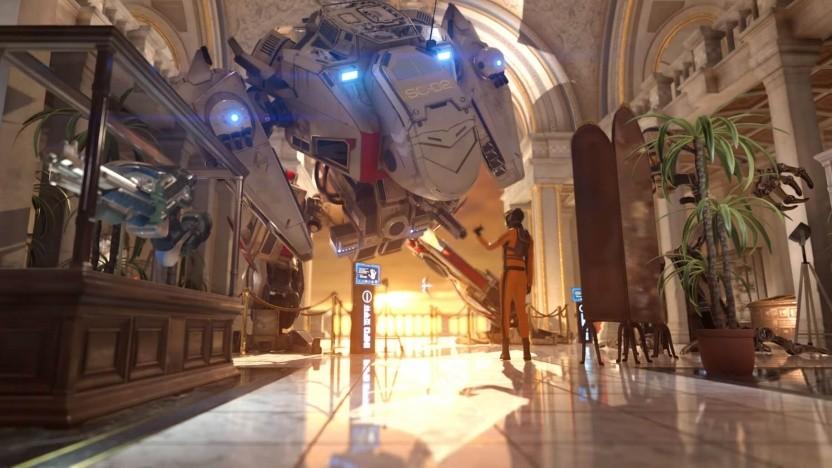 Szene aus dem aktuellen 3DMark Time Spy