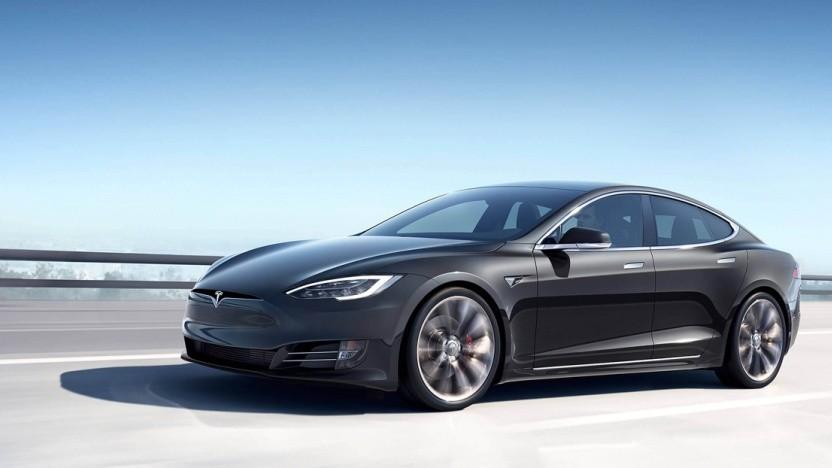 Rendering eines Model S