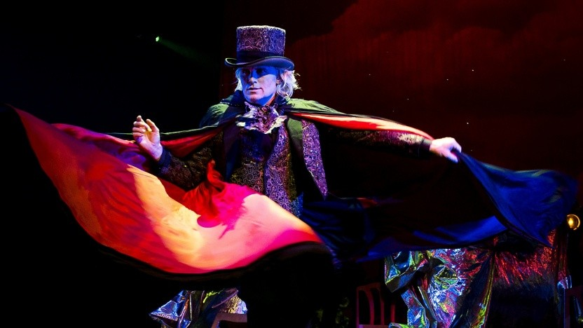 Der niederländische Zauberer Hans Klok