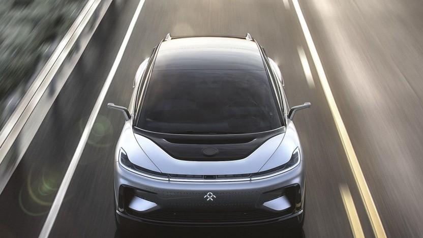 Elektroauto FF 91 von Faraday Future: Vermögen von Firmenchef Jia Yueting eingefroren