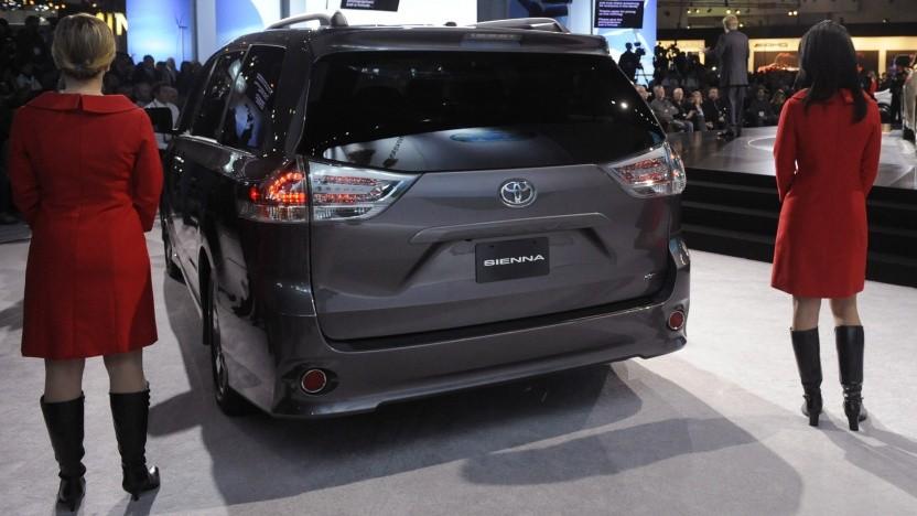 Der Toyota Sienna soll selbstfahrend werden.